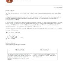 Willing Letter For Scout Eagle Of Recommendation Sample From Parents