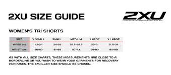 2xu Tri Shorts Size Chart 2xu Womens Mid Rise Compression Shorts Wa3027b