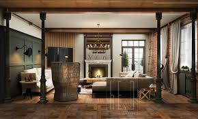 White Exposed Brick Wall Living Room White And Brown Living Room With Exposed Brick Wall