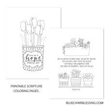 I believe that, that 7 numbers coloring pages and other coloring pages can help to build motor skills of your kid. 10 Page Scripture Coloring Book Print And Color Printables To Print From Home