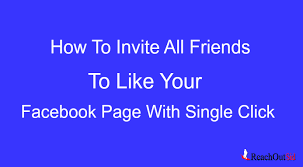 friends to like a page on facebook mobile