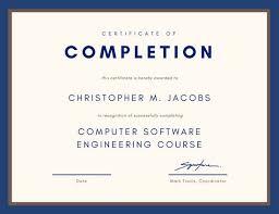 Certification Template Customize 180 Course Certificate Templates Online Canva