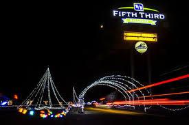 Fifth Third Ballpark Lights Christmas Lite Show Drive Through Display Returns To West