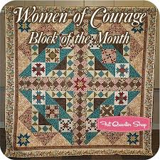 131 best Fabric that I love images on Pinterest | Pattern, Wool ... & Women of Courage Block of the Month Denise Lipscomb of Common Threads  Quilting and Windham Fabrics - Fat Quarter Shop Adamdwight.com