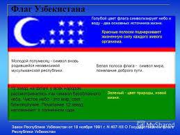 Презентация на тему Презентация к уроку на тему Презентация к  7 Флаг Узбекистана Закон Республики