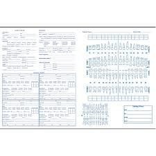 Filing Office Supplies Dental Forms Page 1 Vitality