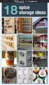 Home Kitchen Organization Chart Spice Storage Organization Idea Box By Marilyn Clark 4