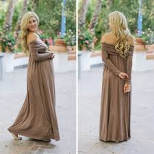 Blue Maternity Dress Baby Shower