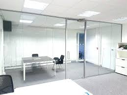 glass walls office. Interior Glass Wall Cost Astonishing Smith Ltd Office Ideas Walls Per Square Foot In India