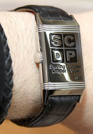 hands on jaeger lecoultre mad men reverso watch is is a fun way to jaeger lecoultre s tribute to mad men is limited to just 25 pieces and features the logo of the fictitious sterling cooper draper pryce advertising agency