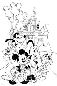 Coloring Book Disney Characters Or With Free Printable Pages Baby