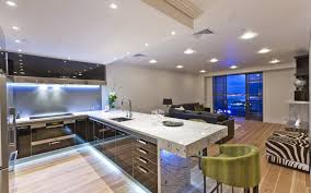 Modern Wallpaper For Kitchen Modern Kitchen Lighting Wallpaper