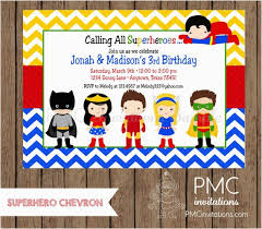 Personalized Superhero Birthday Invitations Personalized Superhero Birthday Invitations Birthdaybuzz