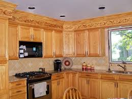 ... Pleasing Kitchen Ideas With Oak Cabinets Charming Home Design Furniture  Decorating ...