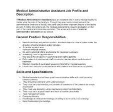 Admin Job Profile Resume Resume Office Template Digitalhustle Co
