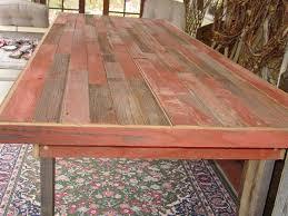9 1/2 ft reclaimed barn wood furniture table country farm table farmhouse  farmers benches