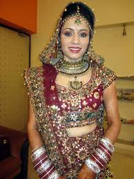 traditional indian bridal makeup by shalini vashisht shalini vashisht bridal makeup artist