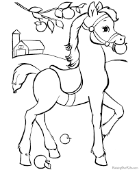 Small Picture Horse to print and color pages 2 color Pinterest Horse