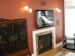 Tv Fireplace Mount Stone Installation Wall Over Ideas On Mantel Mounting A Tv Over A Fireplace