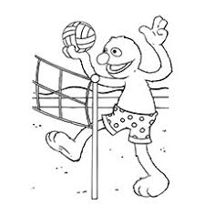 Small Picture 10 Best Volleyball Coloring Pages For Toddlers