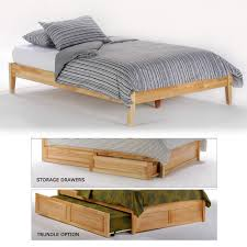 wood platform bed frame full. Interesting Wood Basic Sage Wood Platform Bed In Natural And Frame Full