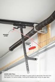 locksmith naples garage door emergency release