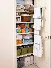 linen closet ideas hanging