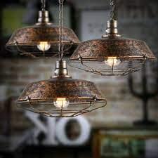 industrial vintage ceiling lights metal