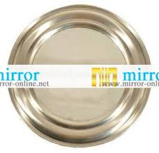 Fancy Mirrors Decorative Silver Wall Mirror Frame In High Density