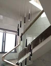 Us 32016 13 Offlange Spirale Led Kronleuchter Licht Treppe Schwarz Rohr Led Leuchte Moderne Led Streifen Treppenhaus Lampe Aluminium Kegel