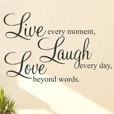wall art live laugh love live laugh love wall sticker e by interiors wall art stickers