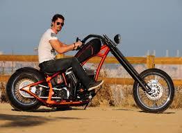 la motorcycles clockwork orange is one sleek custom chopper