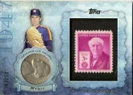 2015 Topps Birth Year Coin and Stamp Nolan Ryan Nickel Mint | eBay