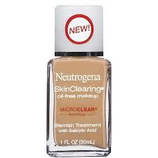 get ations neutrogena skinclearing oil free makeup warm beige 90