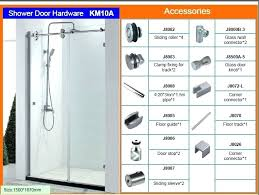 how to replace sliding shower door bottom guide sliding glass shower door replacement parts designs how