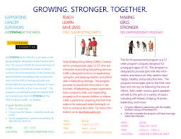 great programs at the ymca including livestrong child and greater scranton ymca program flyer