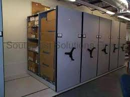 rolling warehouse shelving hand crank shelf rack 5 storage roller racks on tracks images