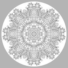 Mandala Par Karakotsya 3 Coloriage Mandalas Coloriages Pour