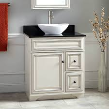 bathroom vanity with offset sink antique white inch home design ideas  vanities