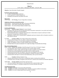 Geriatric Clinical Resume Example - Http://resumesdesign.com ...