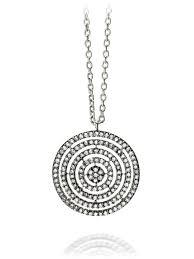 diamond pave pendant