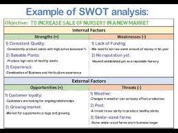 Swot Matrix Examples Swot Analysis Tows Analysis With Examples