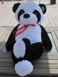 giant huge big  panda bear stuffed plush animal toy birthday