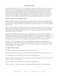 writing an evaluation essay example com writing an evaluation essay example 3 evaluation