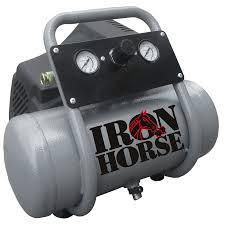 hot dog compressor. ihhd1020f iron horse 1.5 hp 2-gal air compressor hot dog o