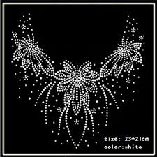 Iron Heat Transfer Designs Us 18 8 2018 Hot Fix Rhinestones Motif Heat Transfer On Design Iron On Clothes T Shirt Shoes Bags Dancing Dress In Rhinestones From Home Garden On