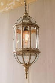 metal pendant lighting fixtures. kalalou distressed glass and metal pendant light lighting fixtures