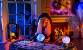 Ideas for Haunted House Rooms-Witch