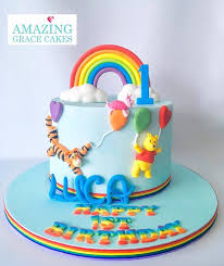 Animal Theme Birthday Cake Design Amazing Grace Cakes A Healthy