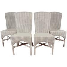 wicker dining chairs six vine lloyd loom wicker dining chairs at 1stdibs zjztgus